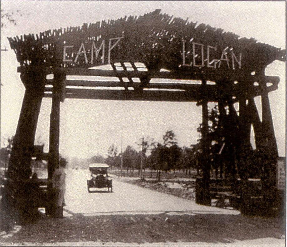 Camp Logan, Circa 1917, now the site of Memorial Park. Photo: Xx / handout