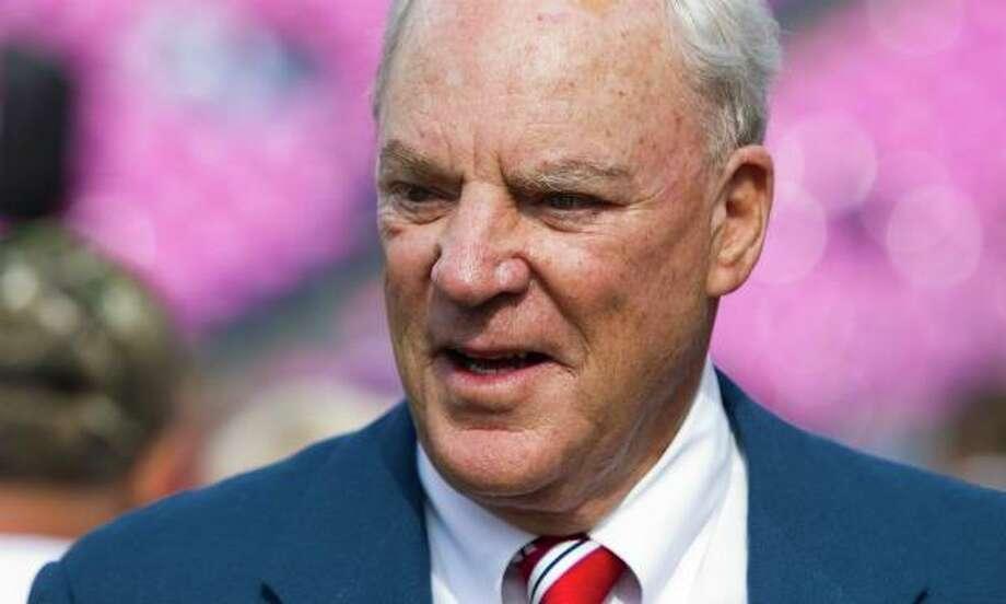 Houston Texans owner Bob McNair. Photo: Brett Coomer / © 2011  Houston Chronicle