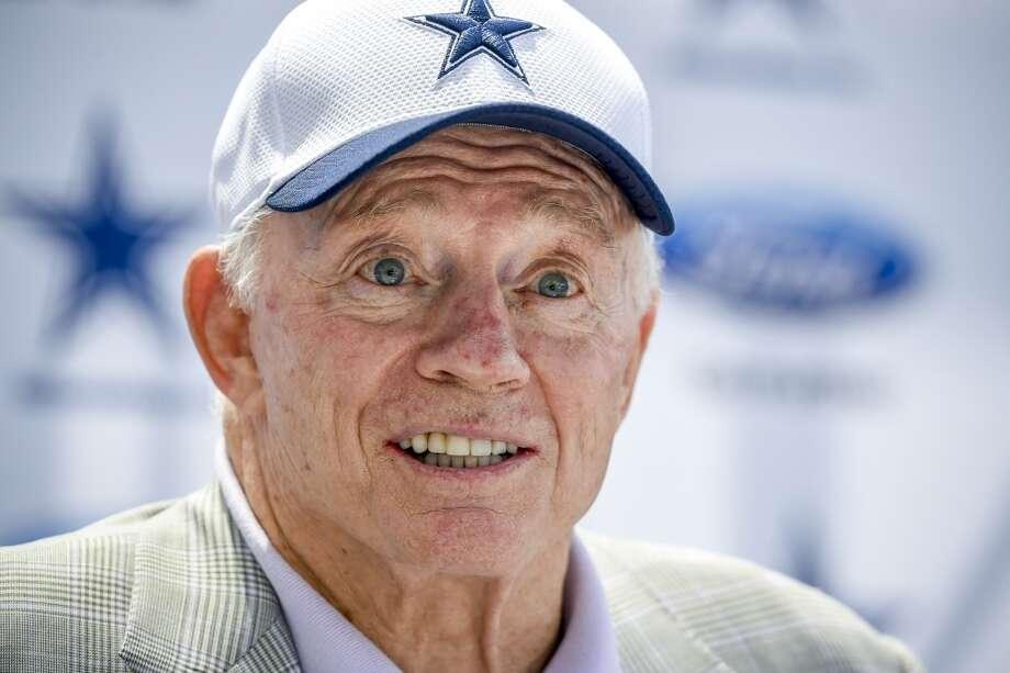 Dallas Cowboys owner Jerry Jones Photo: Gus Ruelas, Associated Press