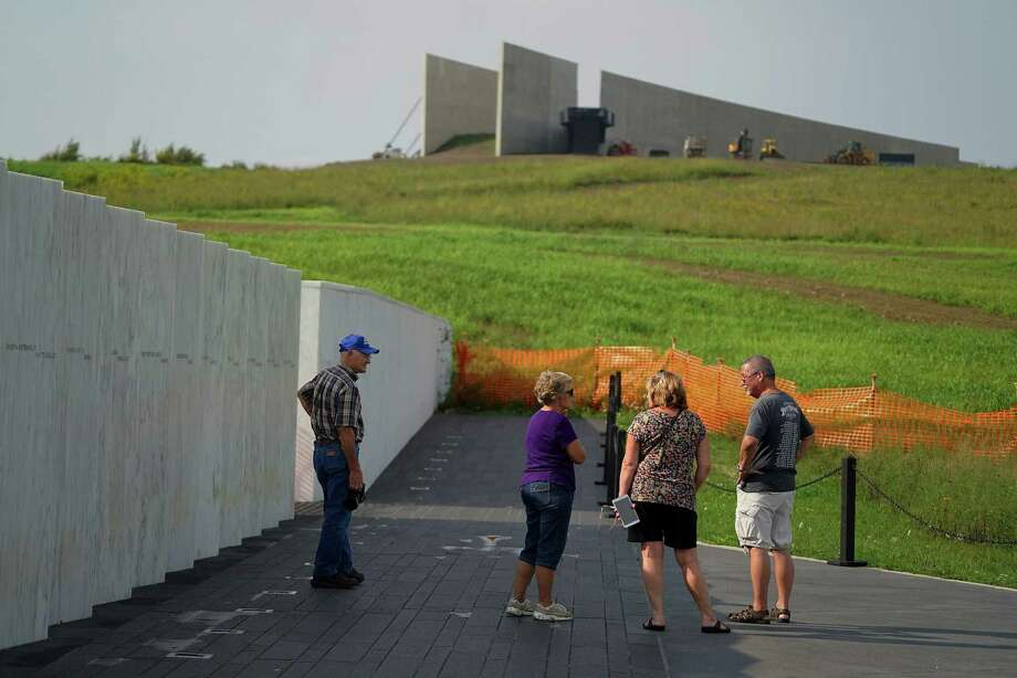 The $26 million visitor center and museum in Shanksville, Pa., which documents the crash of Flight 93, the jetliner hijacked by terrorists aiming for Washington, D.C., opens on Thursday, 14 years after Sept. 11, 2001. Photo: NICOLE BENGIVENO, STF / NYTNS