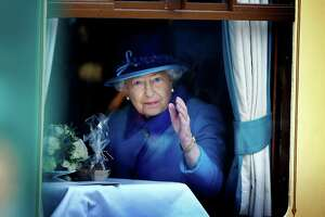 """Britain's Queen Elizabeth II said her record reign was """"not one to which I have ever aspired."""""""