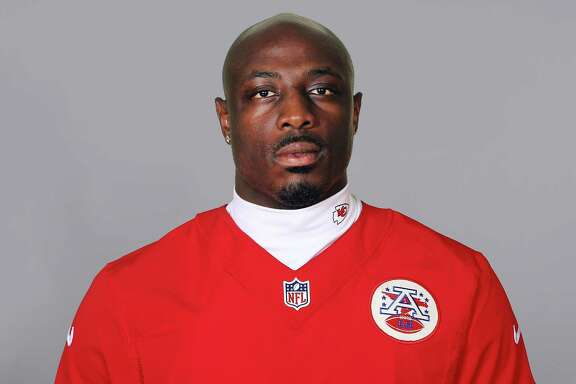 This is a photo of Justin Houston of the Kansas City Chiefs NFL football team. This image reflects the Kansas City Chiefs active roster as of Thursday, July 16, 2015. (AP Photo)