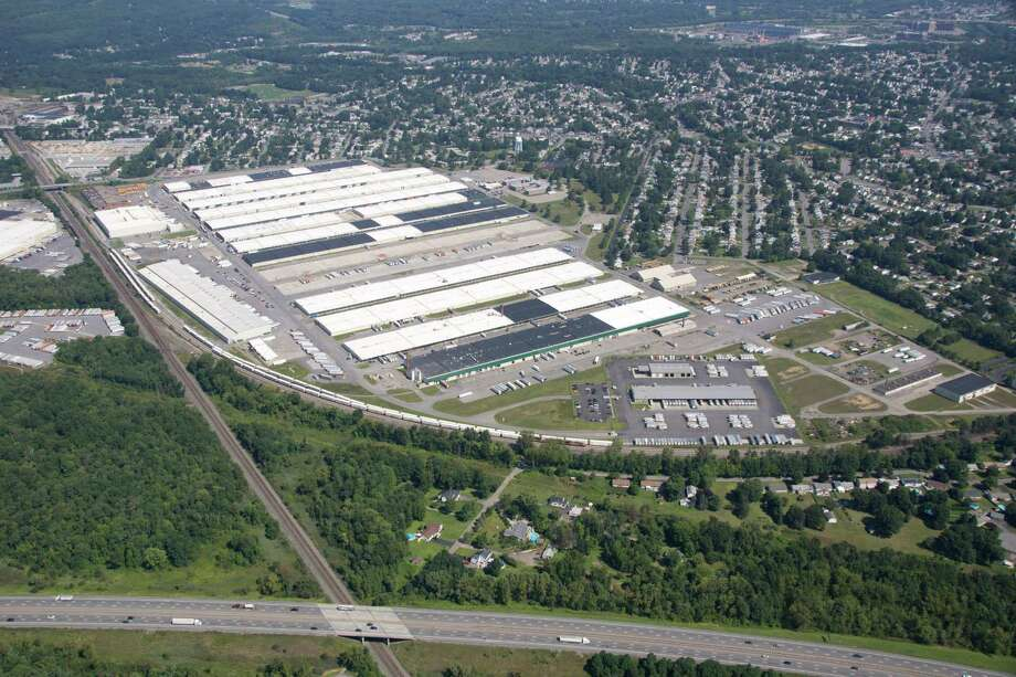 A 100,000-square foot warehouse is proposed for Rotterdam Industrial Park. (Provided photo) Photo: Michael Townsend / Aerial Dimensions