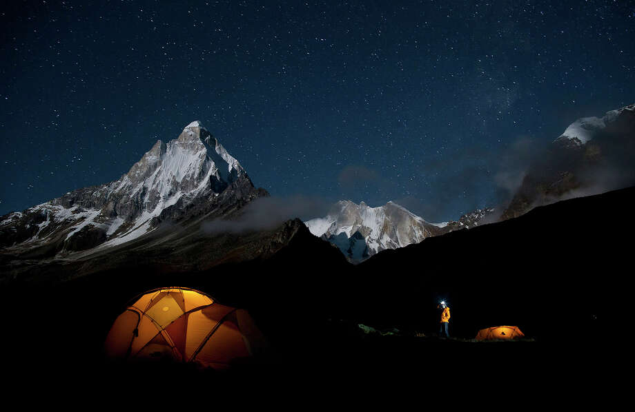 "The documentary ""Meru"" is the edge-of-the seat story of a quest in the Himalayas. Illustrates FILM-MERU-ADV21 (category e), by Michael O'Sullivan (c) 2015, The Washington Post. Moved Monday, Aug. 17, 2015. (MUST CREDIT: Jimmy Chin/Music Box Films) Photo: Courtesy Photo / THE WASHINGTON POST"