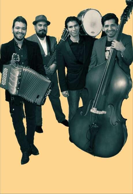 Los Callejeros de San Anto are a new Latino party band led by Alvaro Del Norte. Photo: Courtesy Photo