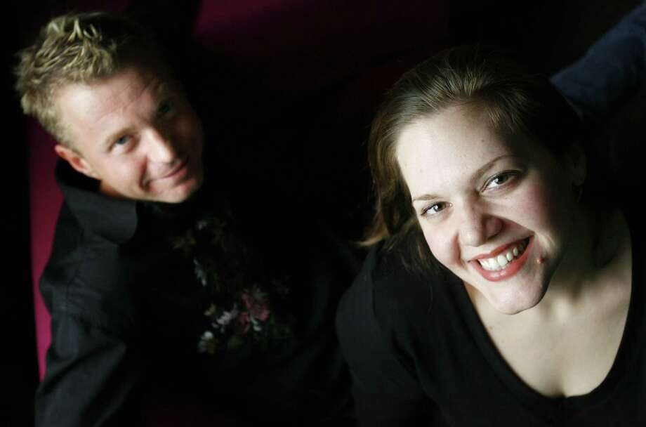 Roula Christie and Ryan Chase Photo: Sharon Steinmann / Houston Chronicle