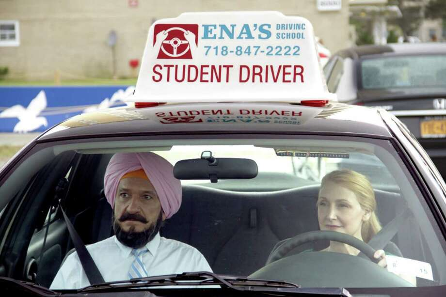 "Ben Kingsley and Patricia Clarkson try to find their way in ""Learning to Drive."" Photo: Broad Green Pictures, HO / Chicago Tribune"