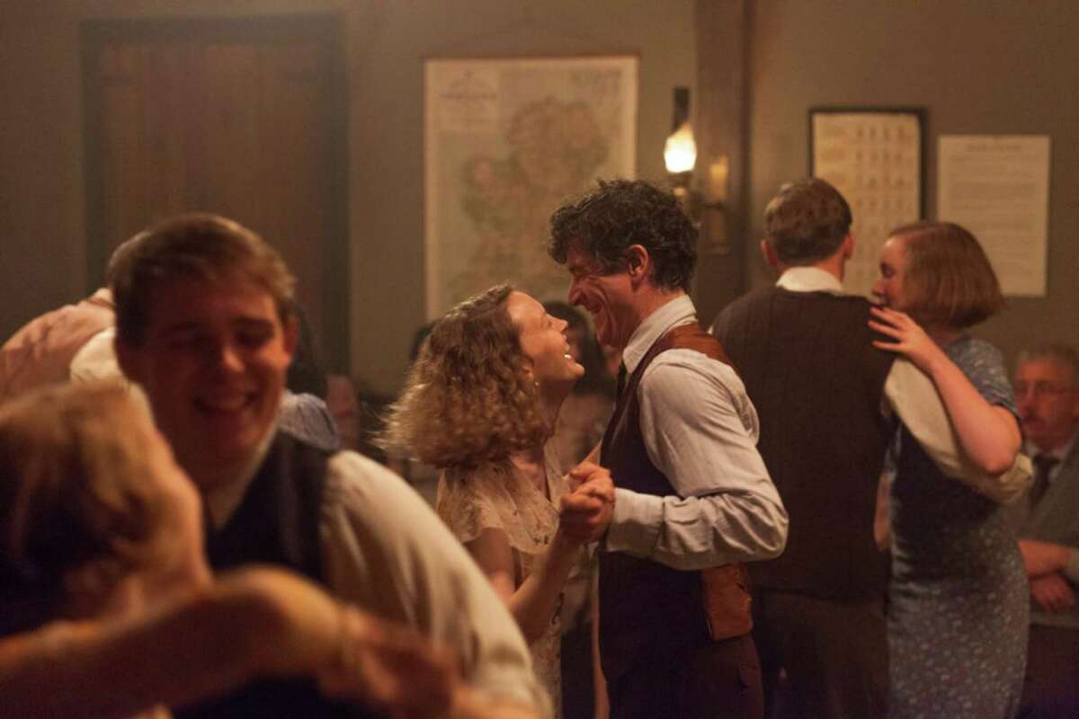 """Barry Ward and Simone Kirby in """"Jimmy's Hall."""" (Handout/TNS)"""