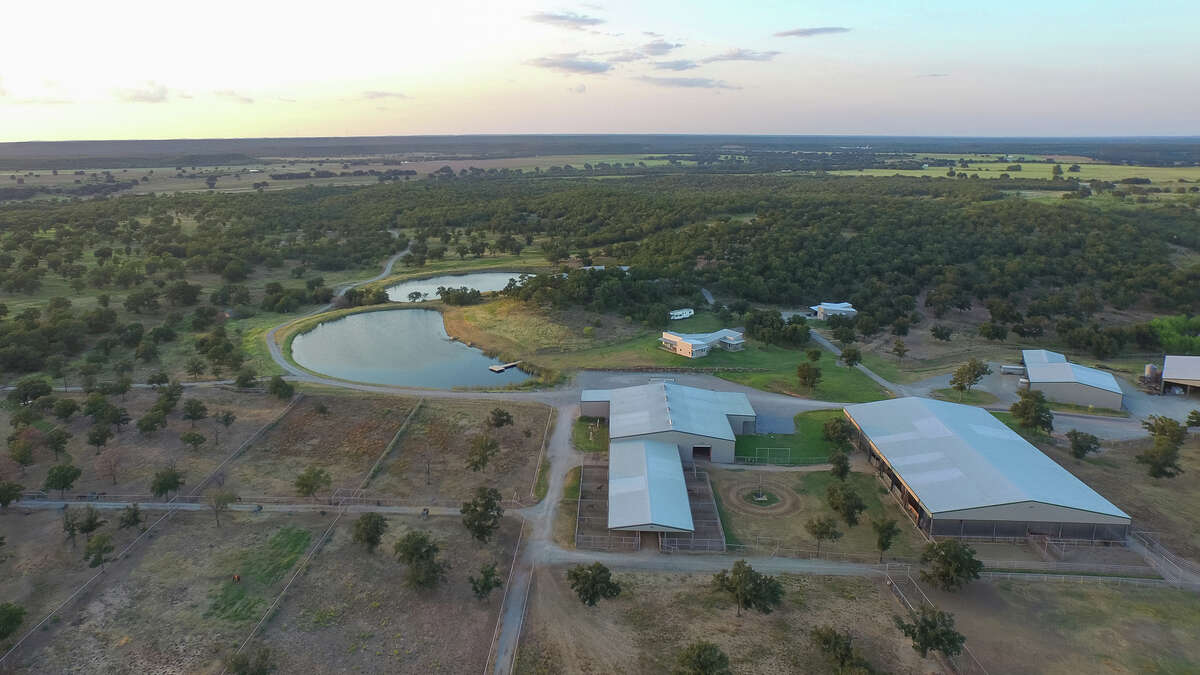 The 1,435-acre Rocking W Ranch, owned by Alice Walton of Walmart family fame, is for sale along the Parker and Palo Pinto County line in Milsap, Texas for $19.75 million. The ranch is roughly 45 miles from Fort Worth and is one of the largest cutting horse ranches in Texas.