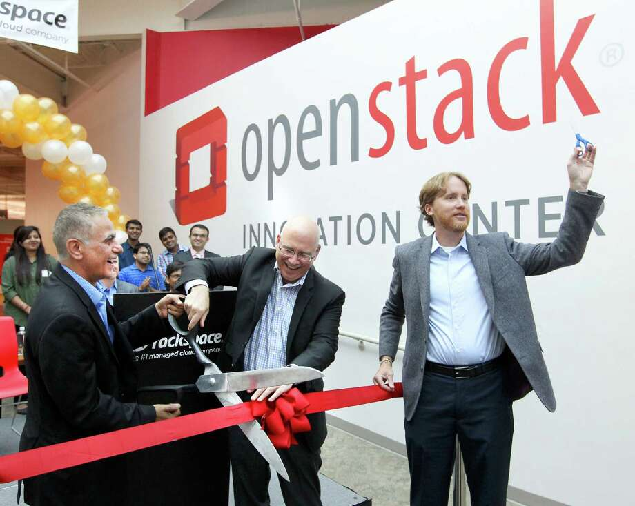 The OpenStack deal helped boost Rackspace's third-quarter net income 42 percent. Photo: William Luther /San Antonio Express-News / © 2015 San Antonio Express-News