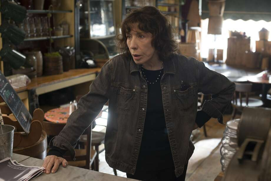 """Lily Tomlin appears in """"Grandma"""" — she's also nominated for """"Grace and Frankie."""" Photo: Glen Wilson, Associated Press"""