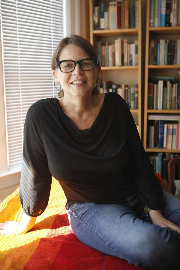 Lori Ostlund,  winner of the Flannery O'Connor  and Rona Jaffe awards for her short stories, is debuting her novel, After the Parade,  September 22, 2015. Photo: Franchon Smith, The Chronicle