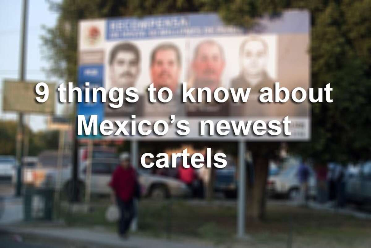 Scroll through the slideshow for nine facts you need to know about the latest batch of Mexican drug cartels to rise to prominence.