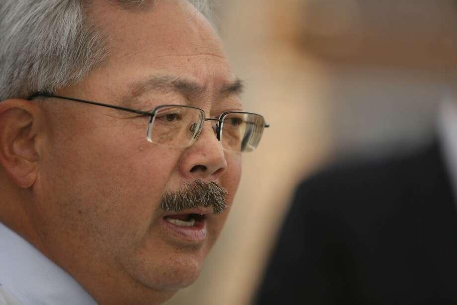 Mayor Ed Lee  Photo: Lea Suzuki, The Chronicle