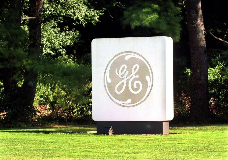 The entrance to General Electric offices on Easton Turnpike in Fairfield. GE said Thursday it will look to sell its asset management division to an investment management firm with experience managing retirement plans. Photo: Christian Abraham / Hearst Connecticut Media / Connecticut Post