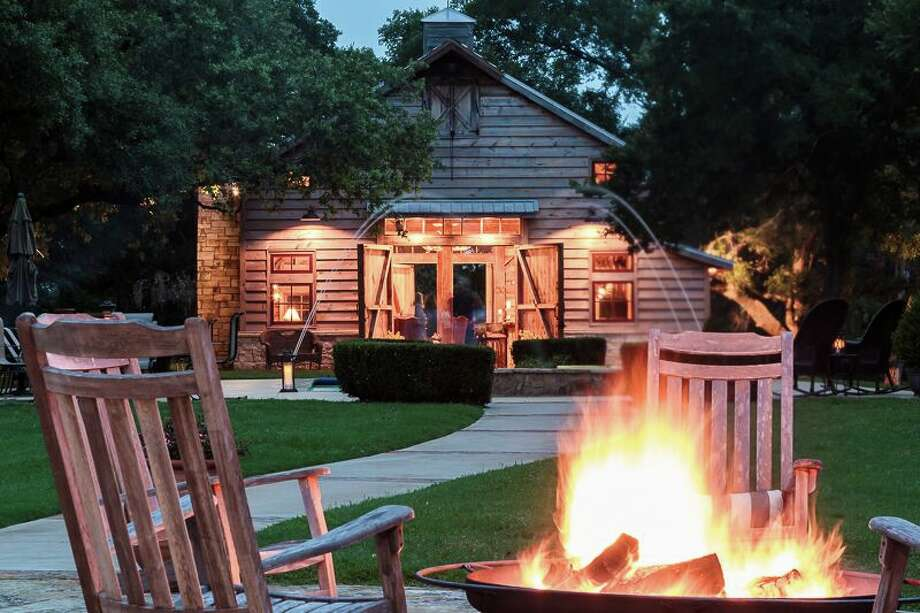 The barn at the Hoppe Lone Star Ranch. Photo: Deitra Robertson Real Estate