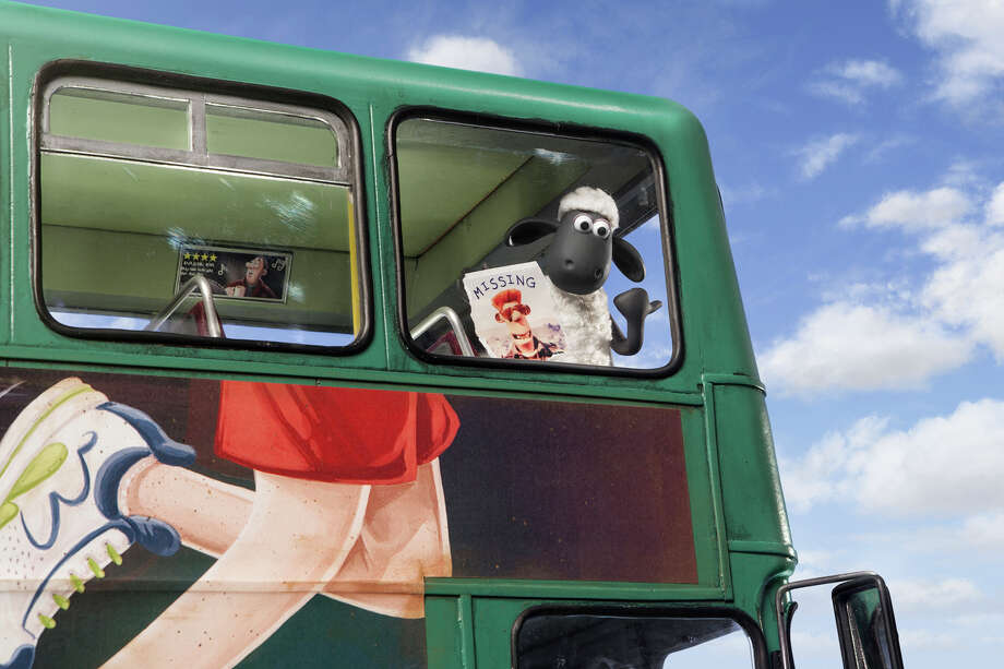"Shaun and his barnyard pals lose their farmer and hit the road to find him in ""Shaun the Sheep Movie."" Illustrates FILM-SHAUN (category e), by Jen Chaney, special to The Washington Post. Moved Thursday, Aug. 6, 2015. (MUST CREDIT: Lionsgate) Photo: HANDOUT / THE WASHINGTON POST"