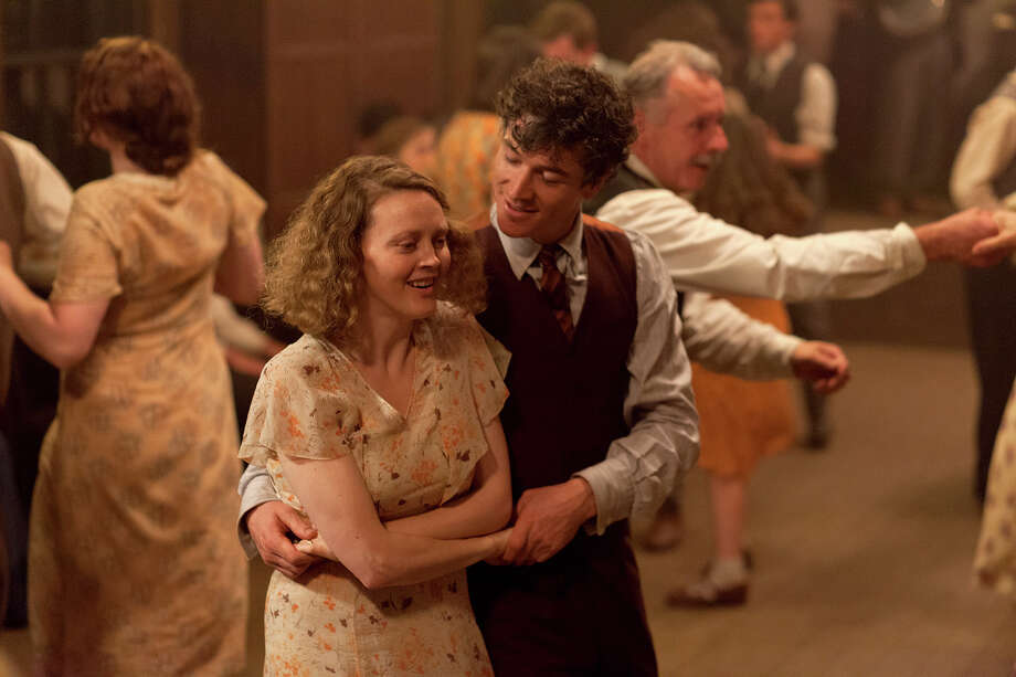 "(L-r) Simone Kirby as Oonagh and Barry Ward as Jimmy in the Depression-era drama ""Jimmy's Hall."" Illustrates FILM-JIMMY-ADV10 (category e), by Ann Hornaday © 2015, The Washington Post. Moved Tuesday, July 7, 2015. (MUST CREDIT: Joss Barratt/Sony Pictures Classics.) Photo: HANDOUT / THE WASHINGTON POST"