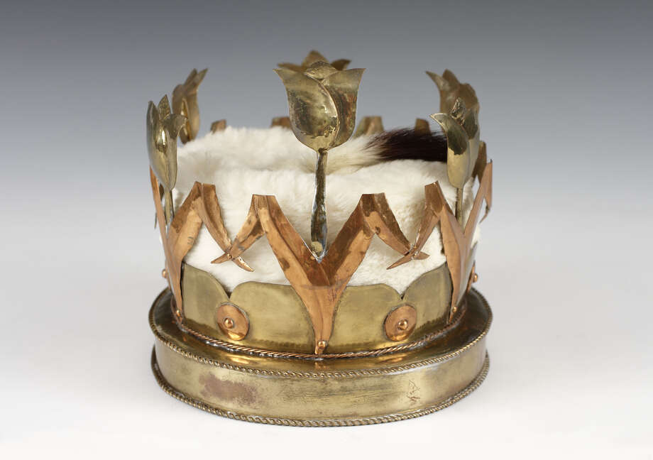 Tulip Queen Crown, Designed by Hajo Christoph, Created by George Righthand, 1949