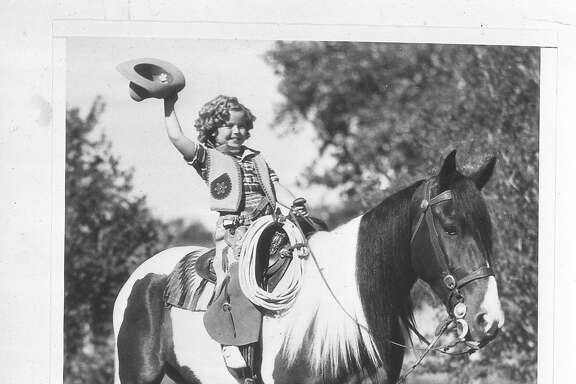 Shirley Temple on vacation in San Francisco July 31, 1936