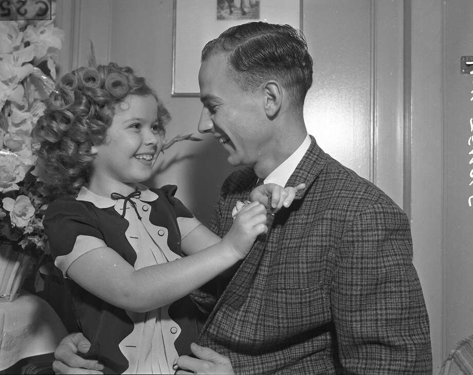Shirley Temple visited the Bay Area with her family in 1936 and 1937. Her older brother Jack, seen here, was an undergrad at Stanford at the time. Photo:  Photographer Unknown