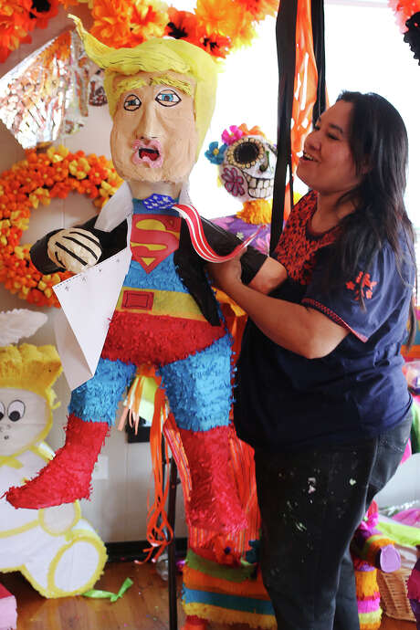 The Cascaron store's piñatas, which can be customized, take three to five days to make. Photo: JERRY LARA /San Antonio Express-News / © 2015 San Antonio Express-News