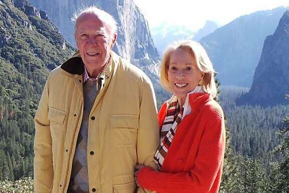 Former Secretary of State George and Charlotte Shultz at Yosemite. The pair were recently honored for their contributions to the National Parks Foundation and many other organizations.