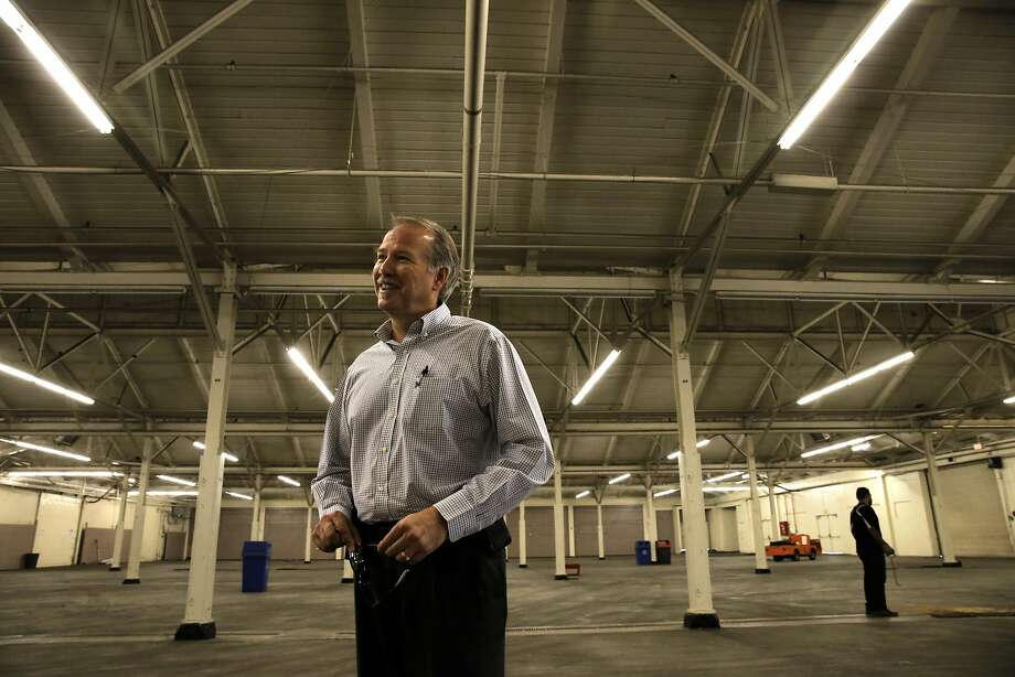 CEO Ken Alstott, inside North Hall at the Cow Palace event center in Daly City, Calif., on Thurs. September 10, 2015. Photo: Michael Macor, The Chronicle