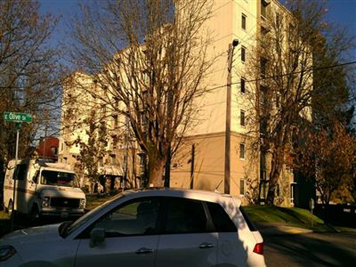 A woman living at the Seattle Housing Authority-owned Olive Ridge apartments looked to have won her fight for a minor increase in her rental subsidy. Then the housing authority sued to stop it. The Olive Ridge apartments, located on Capitol Hill, are pictured above.