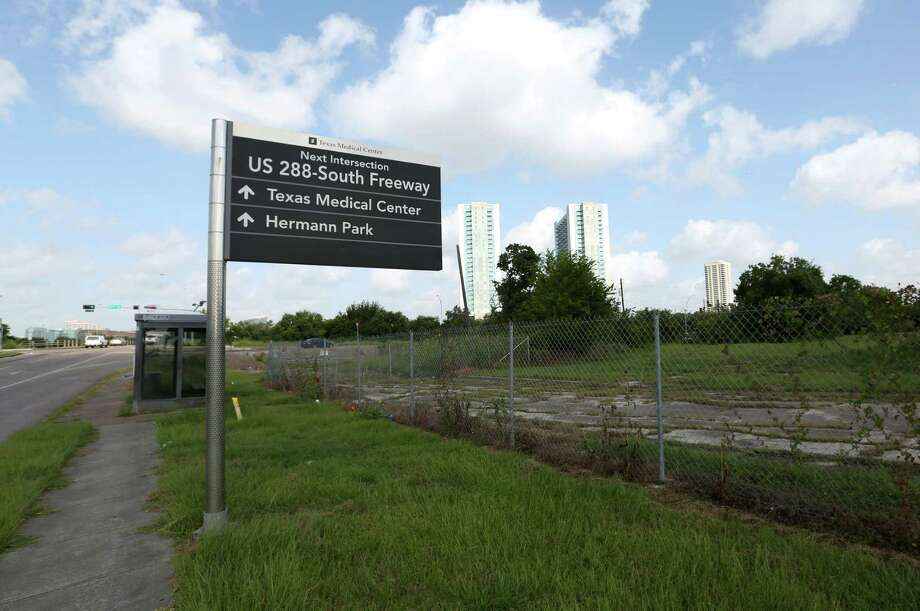 When HCC leaders purchased this 9-acre lot at MacGregor Way and Highway 288 in 2013, some trustees believed it would be more profitable to own the land for a health care school expansion rather than leasing property across from the existing campus for $1 a year. Photo: Jon Shapley, Staff / © 2015 Houston Chronicle