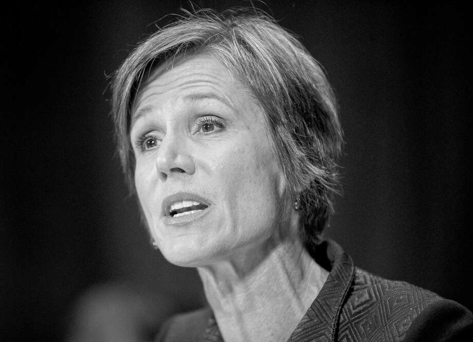 FILE - In this March 24, 2015, file photo, Deputy Attorney General nominee Sally Quillian Yates testifies on Capitol Hill in Washington, before the Senate Judiciary Committee hearing on  her nomination. The Senate confirmed her on Wednesday, May 13, to be deputy attorney general, putting two women in the top posts at the Justice Department. (AP Photo/Pablo Martinez Monsivais, File) Photo: Pablo Martinez Monsivais, STF / AP