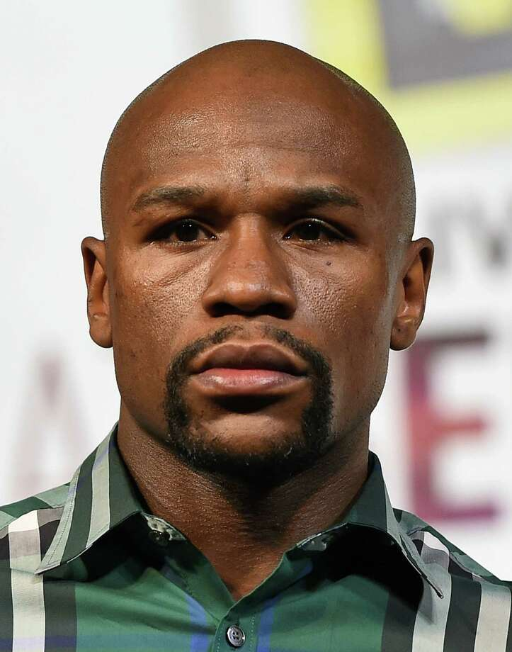 LAS VEGAS, NV - SEPTEMBER 09:  Boxer  Floyd Mayweather Jr. attends a news conference at MGM Grand Hotel & Casino on September 9, 2015 in Las Vegas, Nevada. Mayweather will defend his WBC/WBA welterweight titles against Andre Berto on September 12 at MGM Grand in Las Vegas.  (Photo by Ethan Miller/Getty Images) ORG XMIT: 575883375 Photo: Ethan Miller / 2015 Getty Images