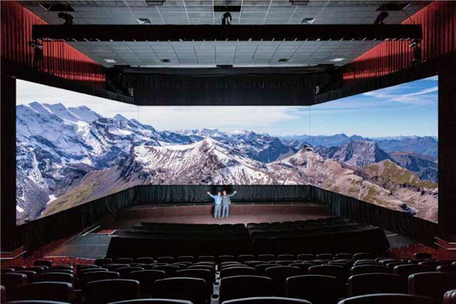 Santikos Silverado on the Northwest Side will feature a new Barco Escape theater, which offers a three-screen, immersive experience for viewers.