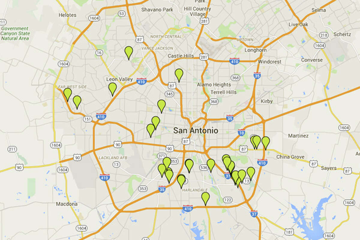 These are the San Antonio restaurants cited with 14 or more demerits in September. Click ahead to see the spots cited with the highest number of violations over the past two weeks.