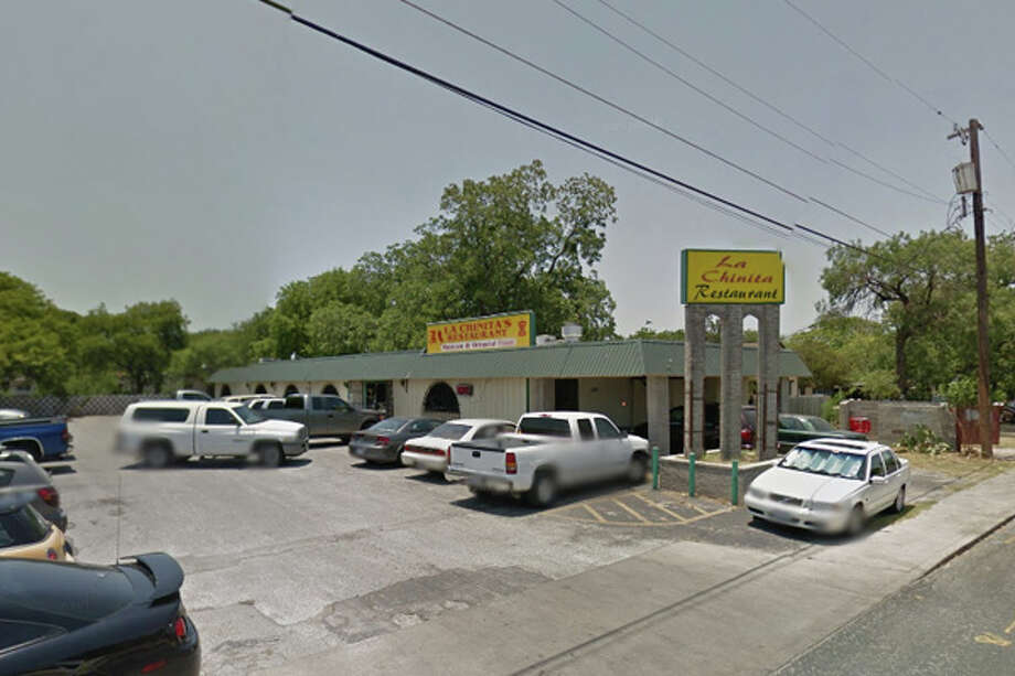 """La Chinitas Restaurant: 1012 AVONDALE AVE San Antonio , TX 78223  Date: 05/31/2018 Score: 67    Highlights: """"Rodent droppings present throughout kitchen,"""" visible soiled utensils stored on shelves, knives stored in cardboard boxes with cooking oil stains, """"mildew/mold substance"""" on plastic curtains in walk-in cooler, heavy grease buildup throughout kitchen, staff eating in kitchen were about to prepare food for customers, observed oil dripping down the roof an on to a catch bucket placed under piping. Oil drips from the roof to the bucket to the floor. The large amount of waste has attract a large amount of flies to the area.    Photo: Google Street View/Maps"""