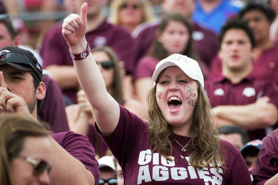 """A football """"chalk talk"""" put on by Texas A&M for female fans left some rubbed the wrong way. Photo: Smiley N. Pool, Staff / © 2012  Houston Chronicle"""
