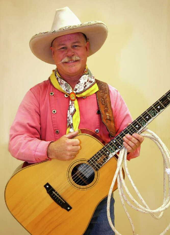 "Ernie Sites, a Western entertainer from Idaho, will help Stepping Stones Museum for Children in Norwalk mark its ""Around the World"" celebration of the United States with a performance on Saturday, Sept. 12. Photo: Contributed Photo / Stamford Advocate Contributed"