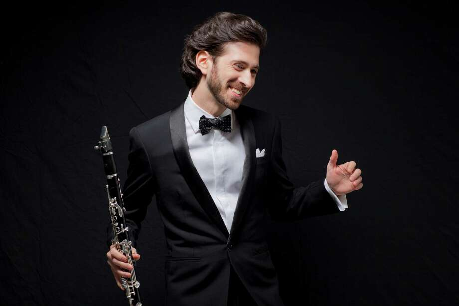 "Oran Etkin will perform in ""Reimagining Benny Goodman,"" at the Ridgefield Playhouse on Sunday, Sept. 13. Photo: Contributed Photo /John Abbott"