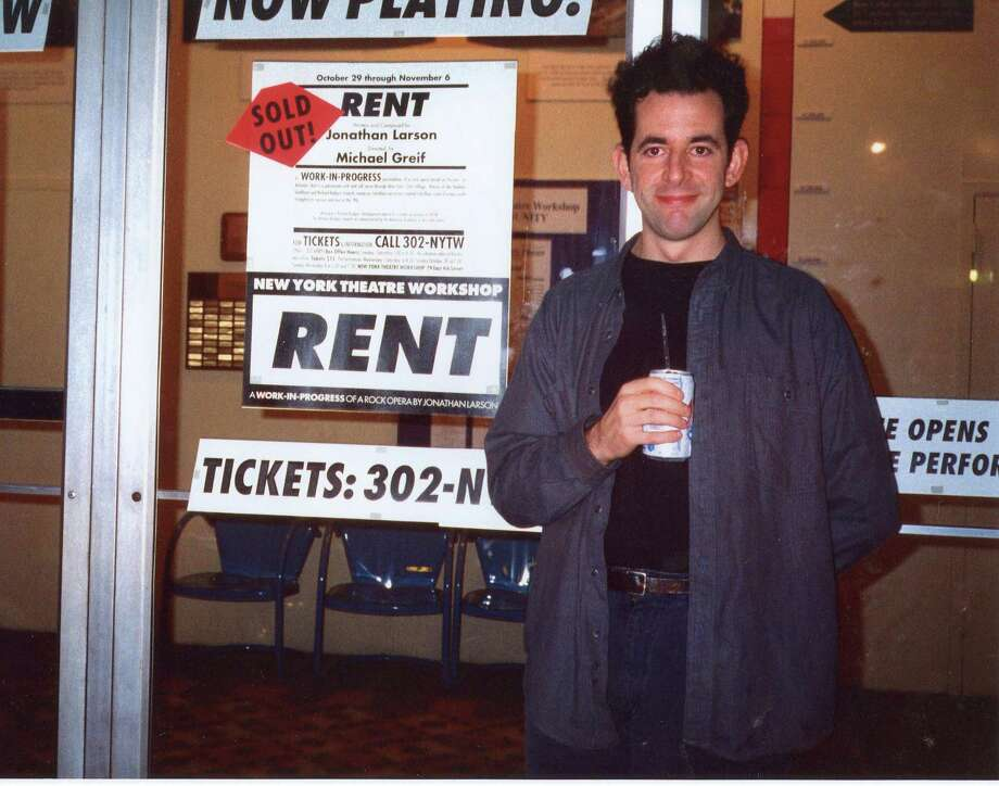 """Tick, Tick...Boom!,"" the musical the late Jonathan Larson, above, wrote before ""Rent,"" is opening the theater season at Bridgeport's Bijou Theatre. Photo: Contributed Photo / Connecticut Post Contributed"