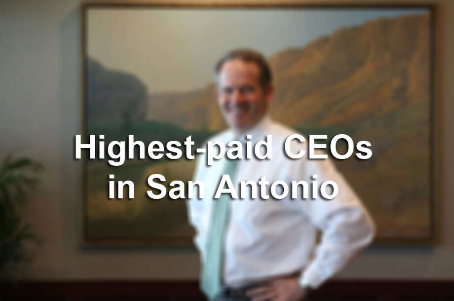 Click through the slideshow to see which San Antonio CEOs earned the most in 2014.