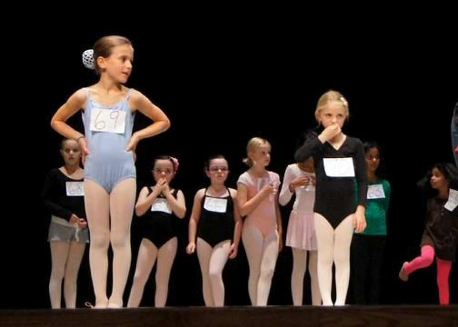 "Children audition for the ""Nutcracker"" ballet in Danbury. Photo: Contributed Photo"