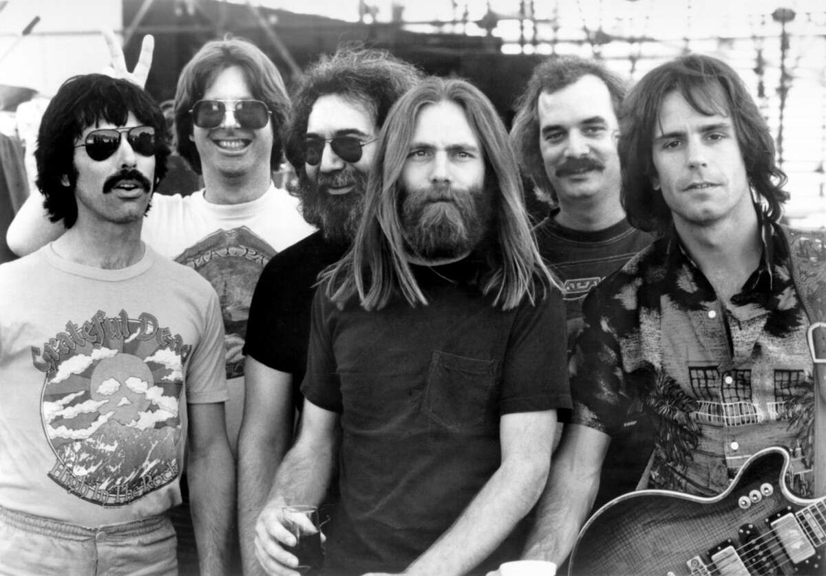 THEN: The Grateful Dead The Grateful Dead is seen in a slightly later but undated file photo.