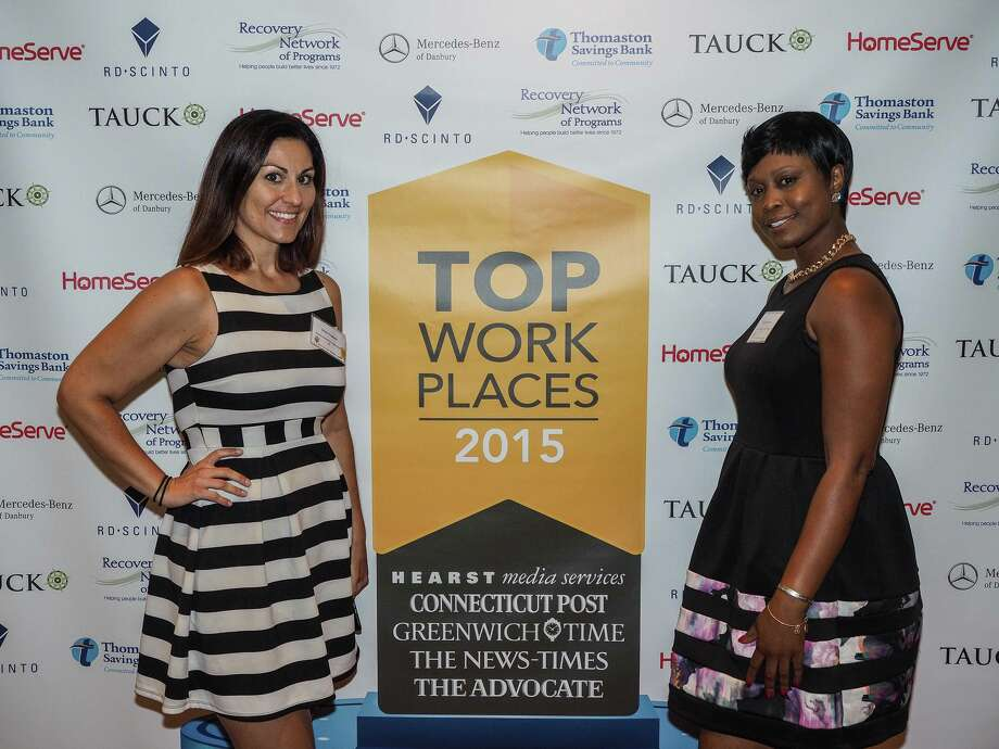 The Hearst Connecticut Media Group recognized its 2015 Top Workplaces recipients at a gala celebration Thursday, September 10, 2015 at The Waterview in Monroe, CT. The 50 Top Workplace winners representing small, medium and large-sized businesses were chosen based on employee surveys. Photo: Rick Baumhauer / © 2015 baumhauerphoto/Rick Baumhauer. All rights reserved.
