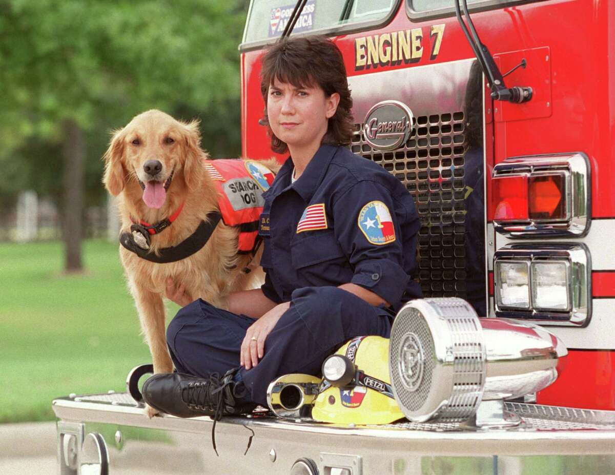 K9 Search Specialist Denise Corliss and her search dog Bretagne went to Ground Zero in New York City to work the site of the World Trade Center terrorist attack.