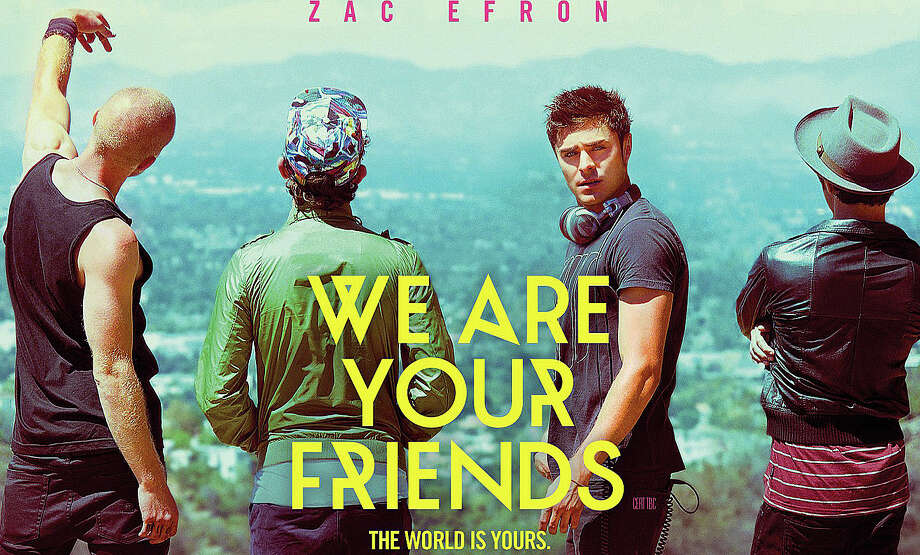 """We Are Your Friends"" is a new movie starring Zac Efron as a young man who wants to make his mark as a DJ in the Los Angeles club scene. Photo: Contributed / Contributed Photo / Westport News"