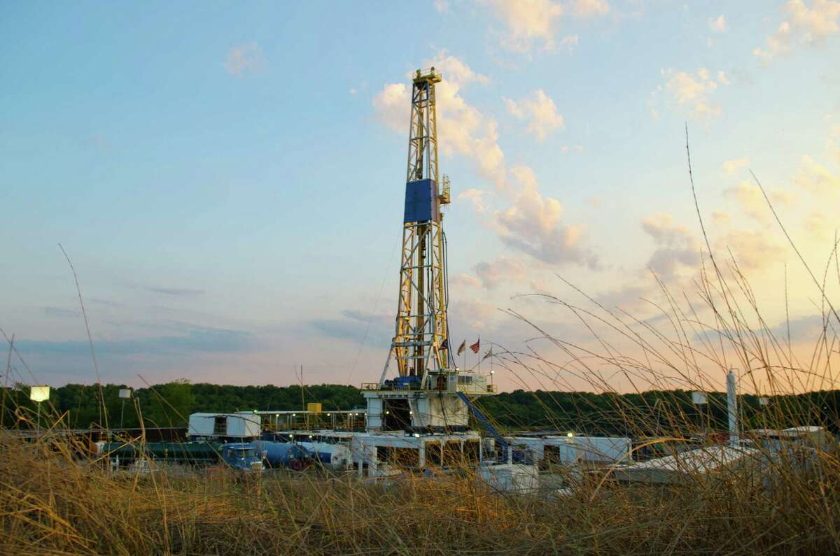A Chesapeake Energy rig operates in Ohio's part of the Utica Shale, a region where Chesapeake has revised its processing and transportation contracts with Williams Cos. The companies are also revising contracts on a Louisiana field.