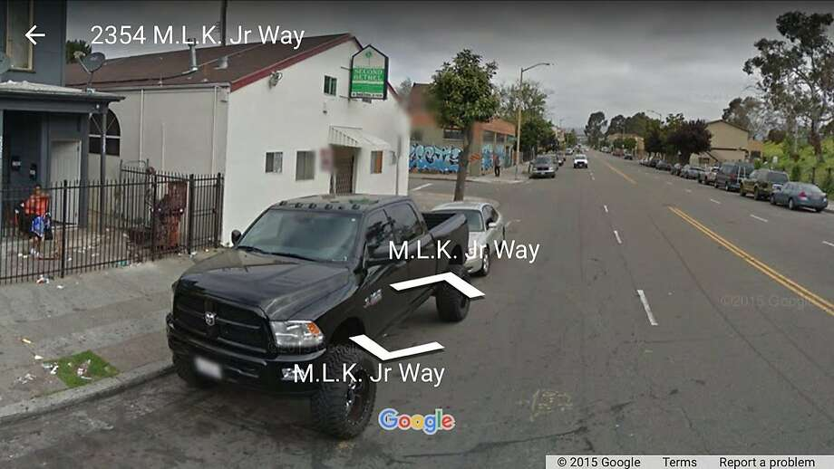 A suspect has been arrested and charged in connection with a fatal shooting on the 2300 block of Martin Luther King Jr. Way in Oakland Photo: Google Maps