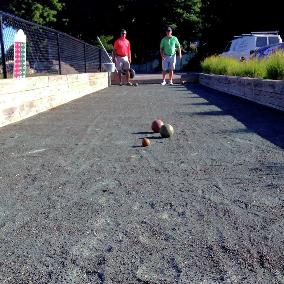 A bocce tournament will be held in Branchville Saturday to benefit local charities. Photo: Barbara Bangser