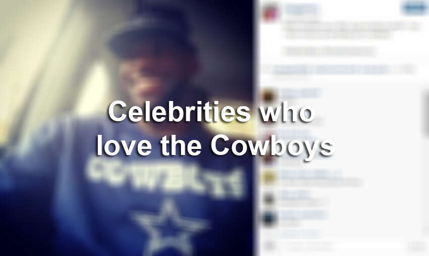 The Dallas Cowboys' star-studded list of fans include Texas favorites and many others who jumped on the teams' bandwagon. Which celebrities support the silver and blue? Click through the slideshow to see celebrity Cowboys fans.