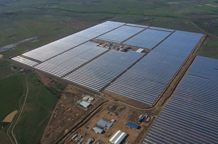 Here is what a GE solar farm looks like Photo: Contributed / Contributed / Connecticut Post